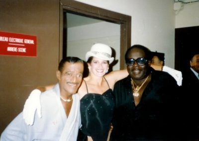 celeb - Deb with Sammy Davis Jr
