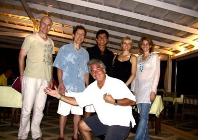 Hanging with T Harv Eker, Blair Singer and friends