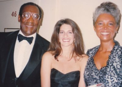 celeb - Deb with Bill and Camille Cosby