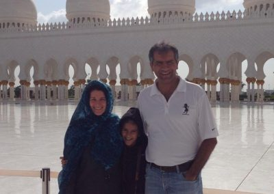 family photo in UAE